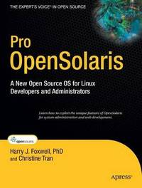 Pro OpenSolaris by Harry Foxwell image