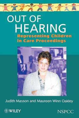 Out of Hearing by Judith Masson image