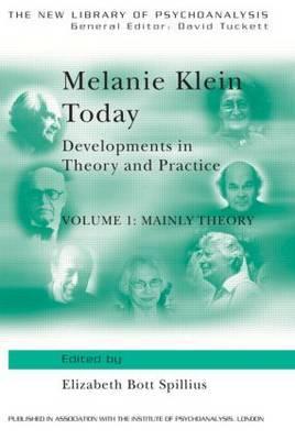 Melanie Klein Today: Volume 1 image