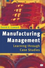 Manufacturing Management by David G. Coward image