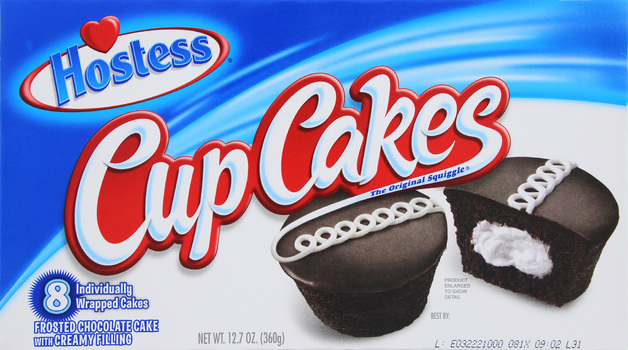 Hostess Chocolate Cupcakes (8 Pack)