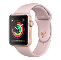 Apple Watch Series 3 GPS with Pink Sand Sport Band - Gold Aluminium Case (42mm)