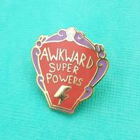 Jubly-Umph Awkward Super Powers Lapel Pin