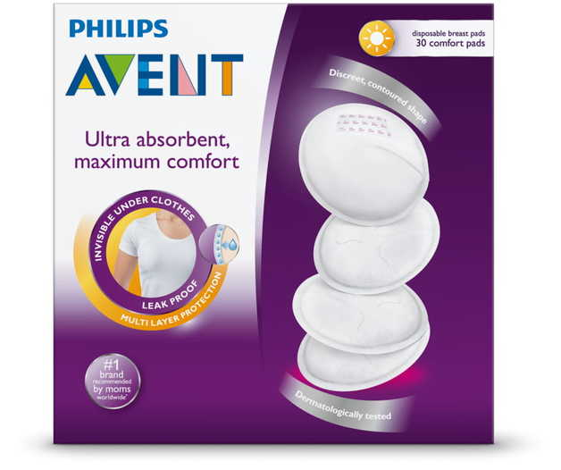 Avent Disposable Breast Pads - Day (30 Pads)