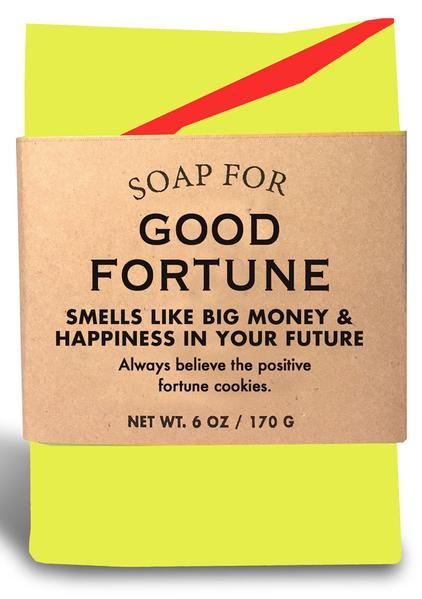 Whiskey River Co: Soap - Good Fortune