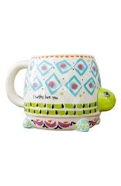 Natural Life: Ceramic Folk Mug - Turtley Love You