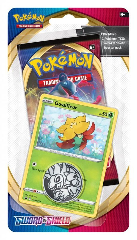 Pokemon TCG: Sword and Shield Checklane Blister - Gossifleur