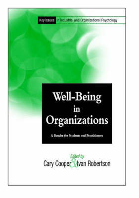 Well-being in Organizations by Cary L Cooper