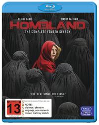 Homeland - The Complete Fourth Season on Blu-ray