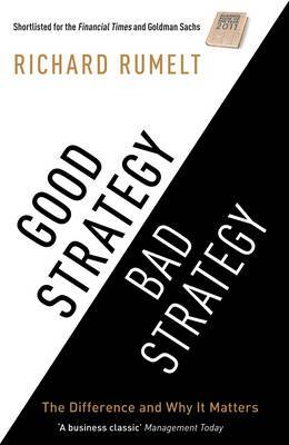 Good Strategy Bad Strategy by Richard Rumelt image