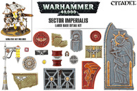 Sector Imperialis Large Base Detail Kit