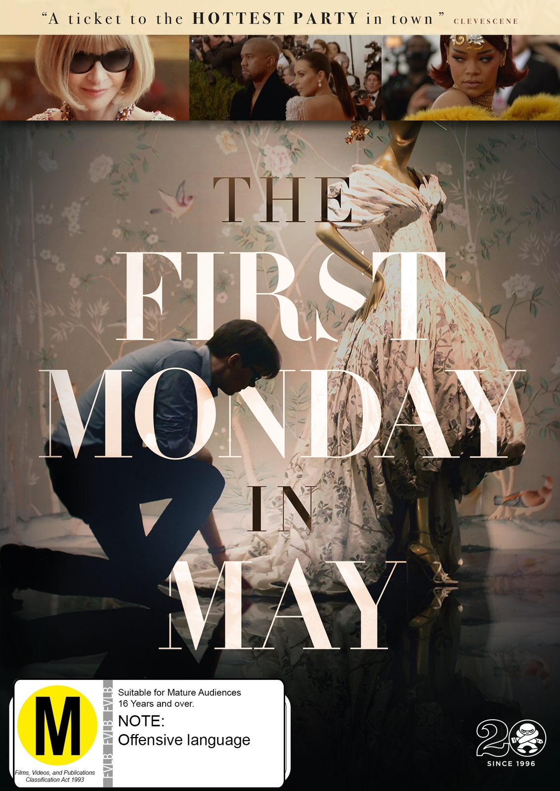 The First Monday In May on DVD image