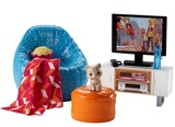 Barbie: Movie Night & Kitten Playset