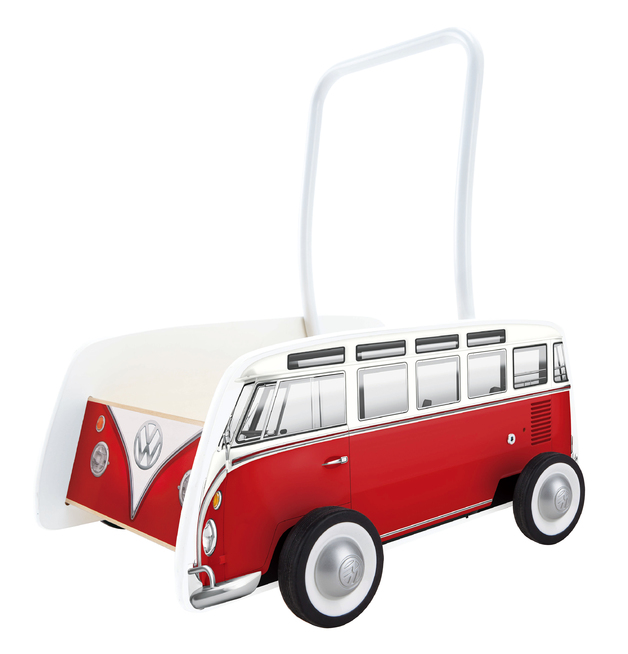 Hape: VW Combi Van Walker (Red)