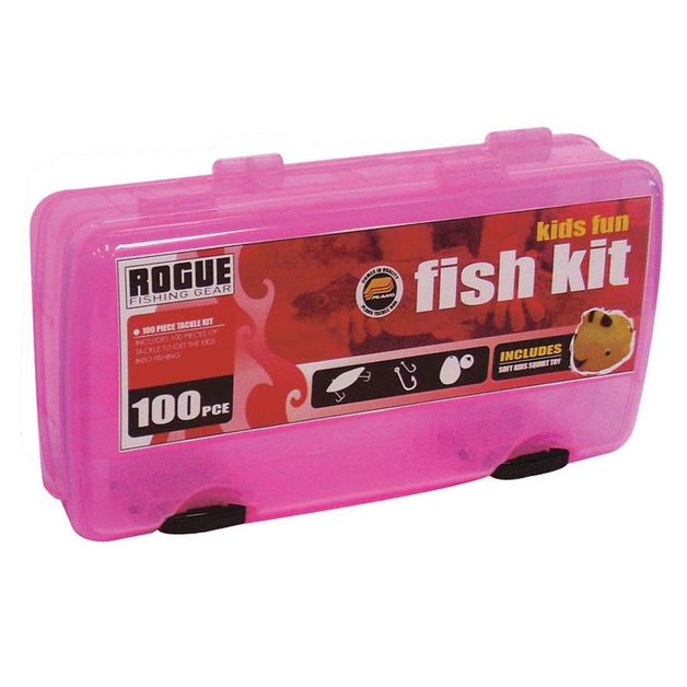 Rogue Kids' Tackle Kit Pink