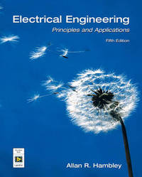 Electrical Engineering: Principles and Applications by Allan R. Hambley image