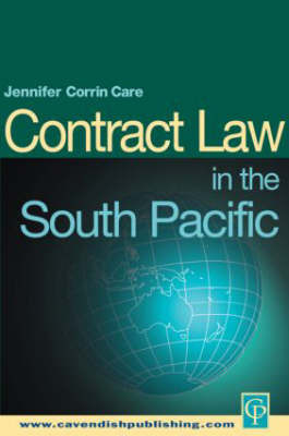 South Pacific Contract Law by Jennifer Corrin Care