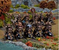 Kings of War Dwarf Brock Riders Regiment