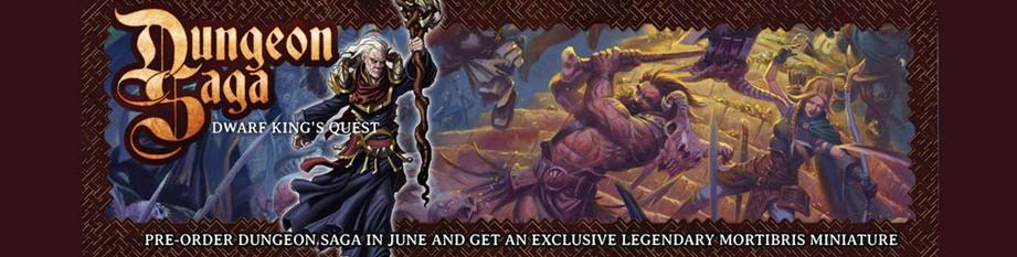 Dungeon Saga Pre-Orders