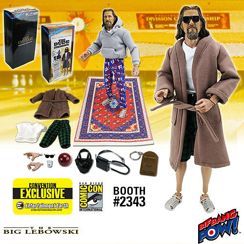"The Big Lebowski: The Dude Deluxe 12"" Action Figure image"