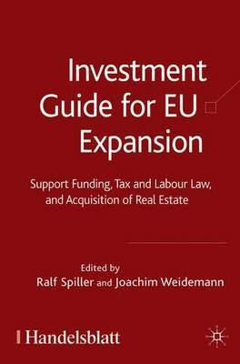 Investment Guide for EU Expansion by Joachim Weidemann image
