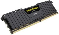 16GB Corsair Vengeance LPX (2x8GB) DDR4 DRAM 2666MHz C16 Memory Kit - Black image