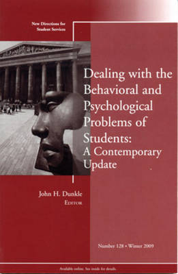 Dealing with the Behavioral and Psychological Problems of Students by Student Services (SS)