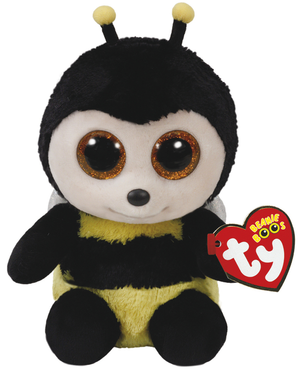 Ty Beanie Boo: Buzby Bee - Small Plush