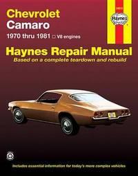 Chevrolet Camaro (70 - 81) by J.H. Haynes
