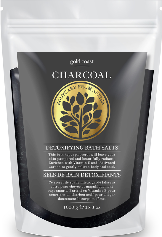 Gold Coast Charcoal Bath Salts (1kg)