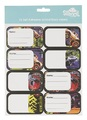 Spencil: Big Wheels II - Name & Subject Labels (16-Pack)