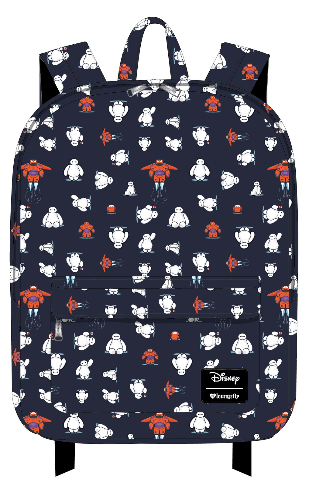 Loungefly: Disney Big Hero Six - AOP Backpack image