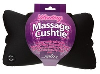 Massage Cushtie - Vibrating Travel Pillow (Black)
