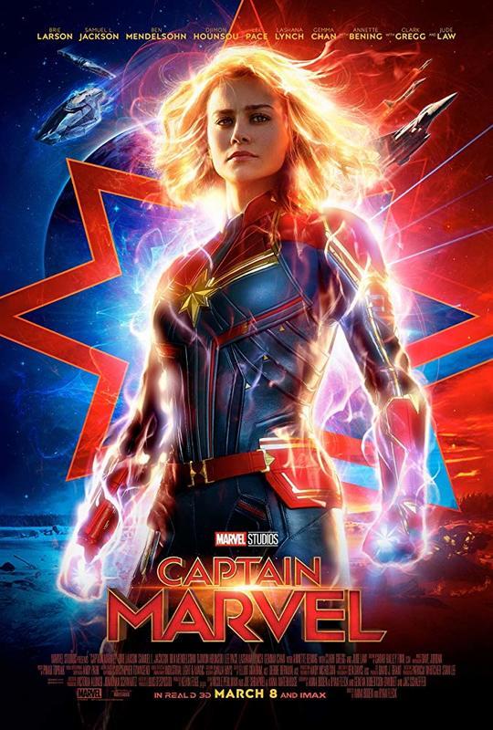Captain Marvel on UHD Blu-ray