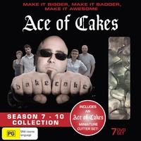 Ace Of Cakes - Season 7-10 Collection DVD