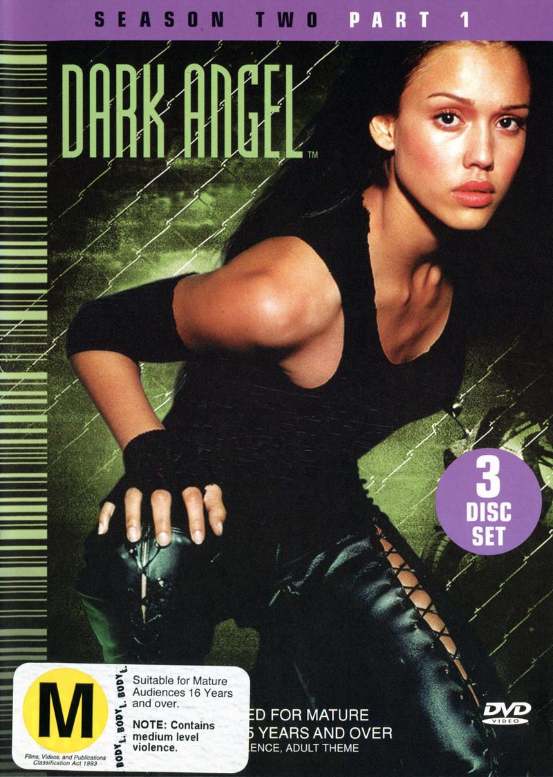 Dark Angel: Season 2 Part 1 (3 Disc) on DVD image