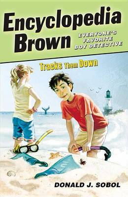 Encyclopedia Brown Tracks Them Down by Donald J Sobol image