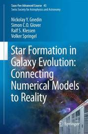 Star Formation in Galaxy Evolution: Connecting Numerical Models to Reality by Nickolay Y. Gnedin