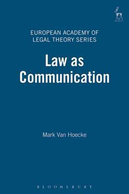 Law as Communication by Mark Van Hoecke image