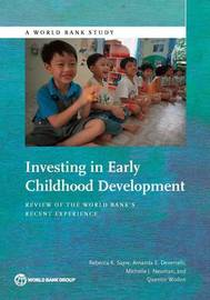 Investing in early childhood development by Rebecca K Sayre