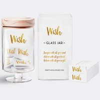 Wish Glass Jar image