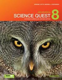 Jacaranda Science Quest 8 for Victoria Australian Curriculum 1E (Revised) LearnON & Print by Graeme Lofts