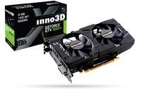 INNO3D GeForce GTX 1050 TI X2 4GB Graphics Card