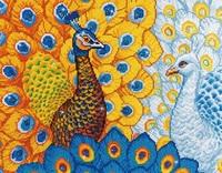 Diamond Dotz: Facet Art Kit - Romantic Peacocks