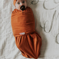 Embe Classic 2-Way Swaddle - Tan Brown image
