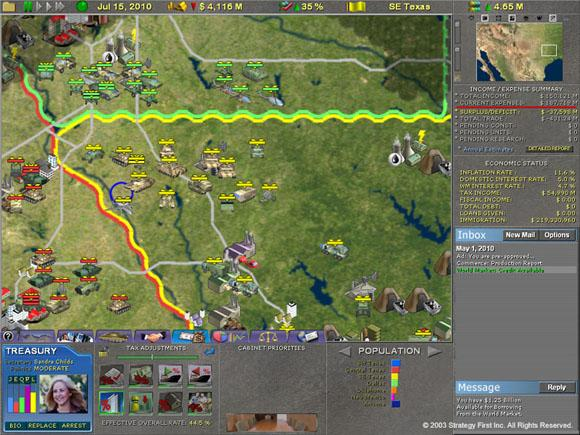 Supreme Ruler 2010 for PC Games image