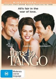 Three To Tango on DVD