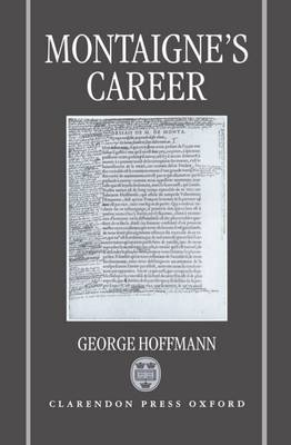 Montaigne's Career by George Hoffmann image