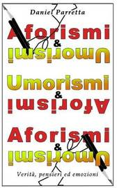 Aforismi & Umorismi by Daniel Parretta Dp image