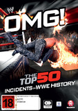 WWE: OMG! Top 50 Incidents In WWE History DVD